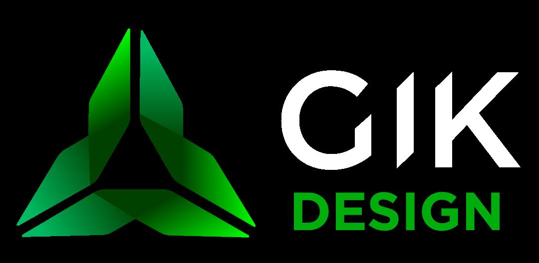 GIK DESIGN logo